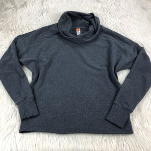 Lucy Pull Over Funnel Neck Sweatshirt